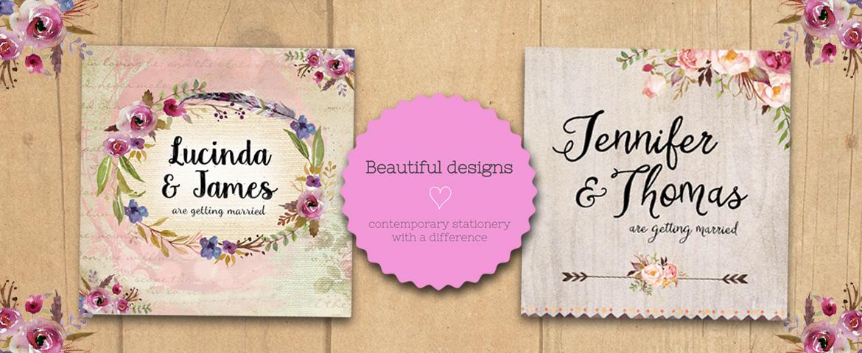 Loving Invitations Slider Background Beautiful Designs Contemporary Stationary