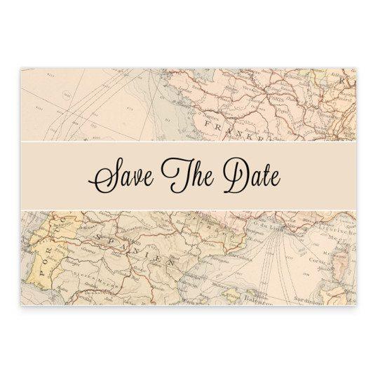 Around the world Save the date