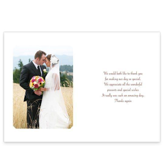 Around the world Travel inspired Wedding Thank You_back