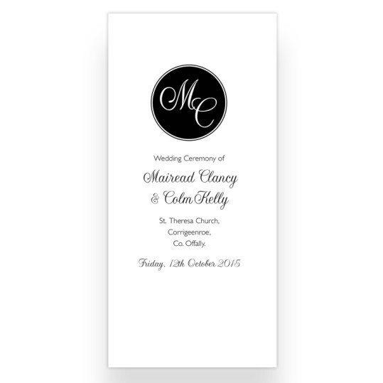 Ceremoney letter fold