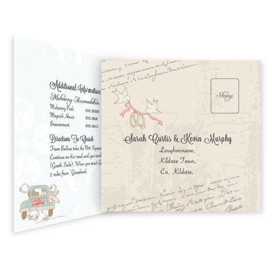 Love Story Tri-Fold & RSVP Invite_inside