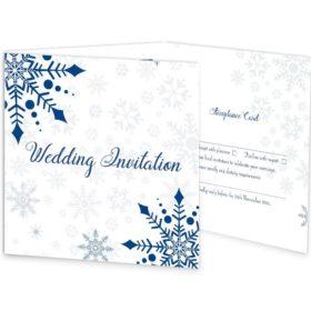 Snowflake Tri-Fold Invite_front