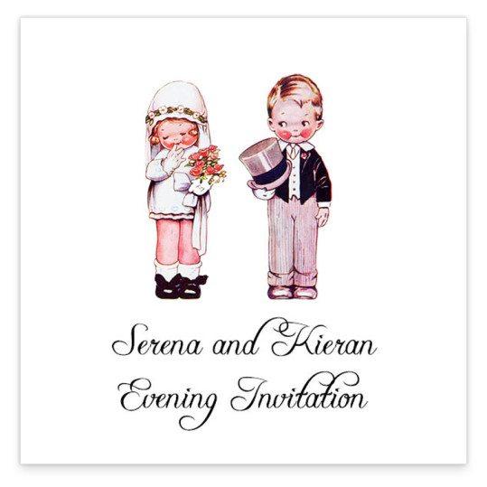 Wedded Children Evening Invite