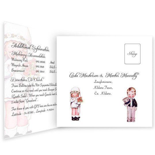 Wedded Children Tri-Fold & rsvp invite_inside