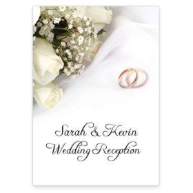 Wedding bands & flowers Menu_front