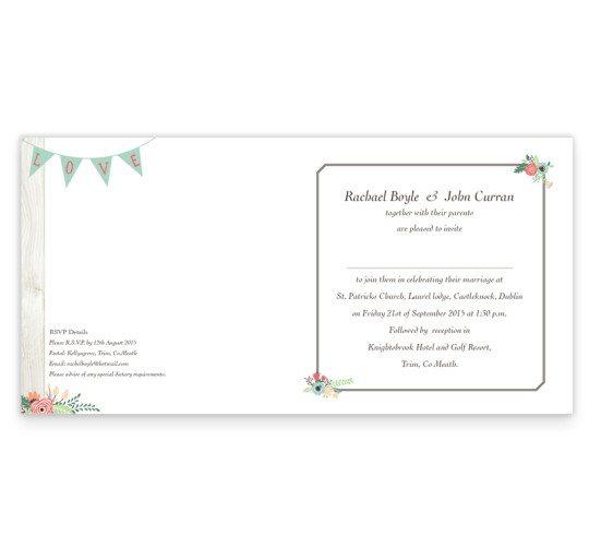 Rustic Romance Folding Wedding Invite_inside