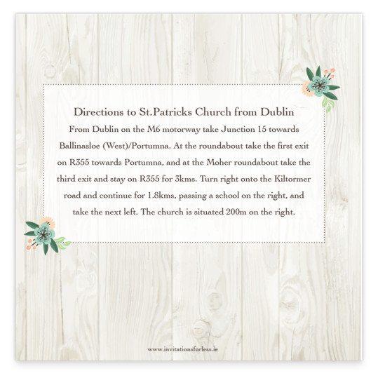 Rustic Romance Tri-fold wedding Invite_back