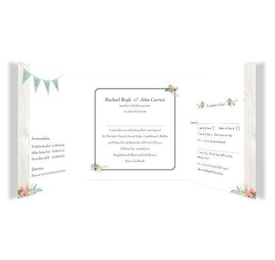 Rustic Romance Tri-fold w RSVP wedding Invite_inside_2