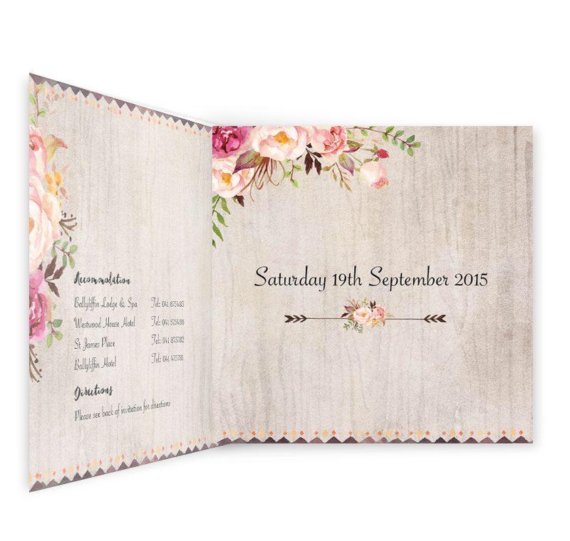 fold invitation
