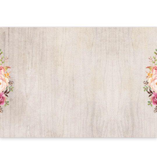 Flowering Affection ceremony booklet cover inside
