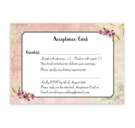 Antique Floral RSVP card_back