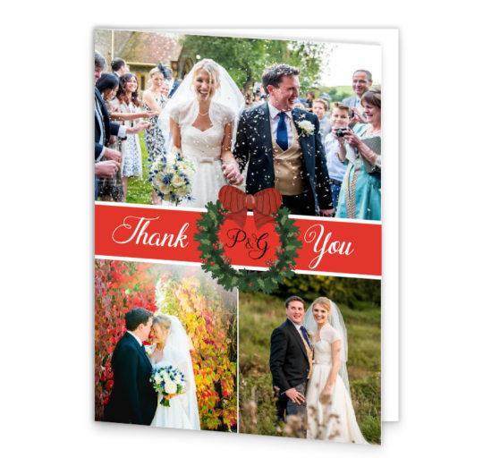 christmas-wedding thank-you_card