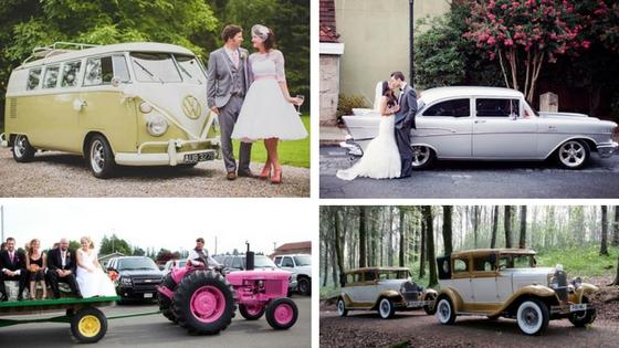 Wedding transport that we love
