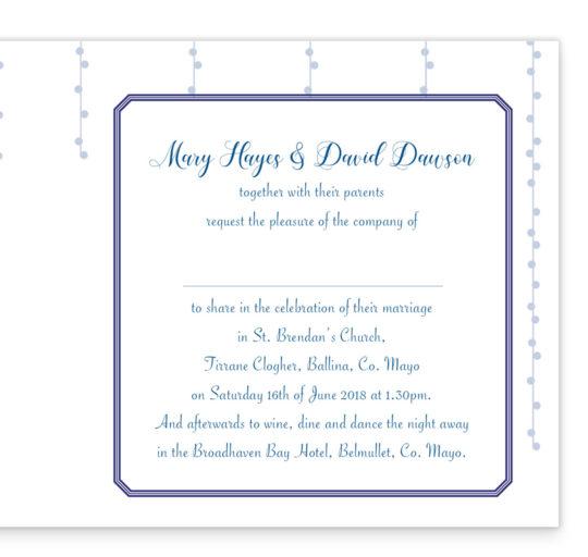 Starry Night Folding Wedding Invitation inside_2