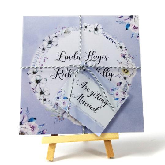 Lilac Love Wedding Invitation