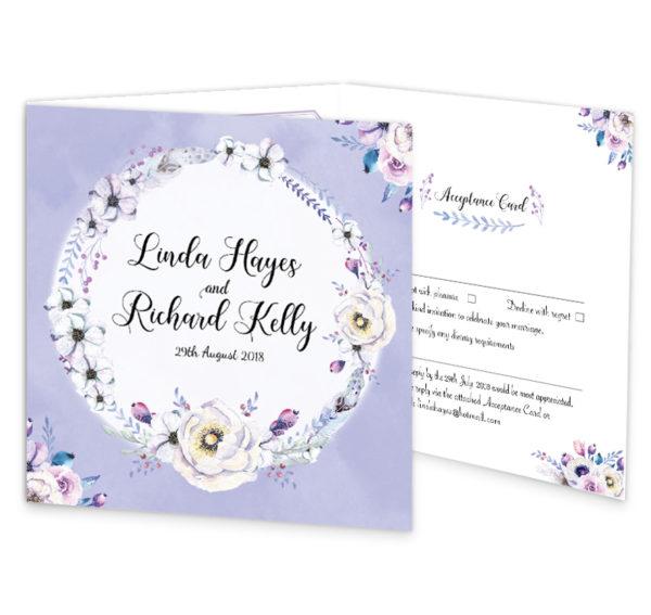 Lilac Love Tri-Fold Invite_front
