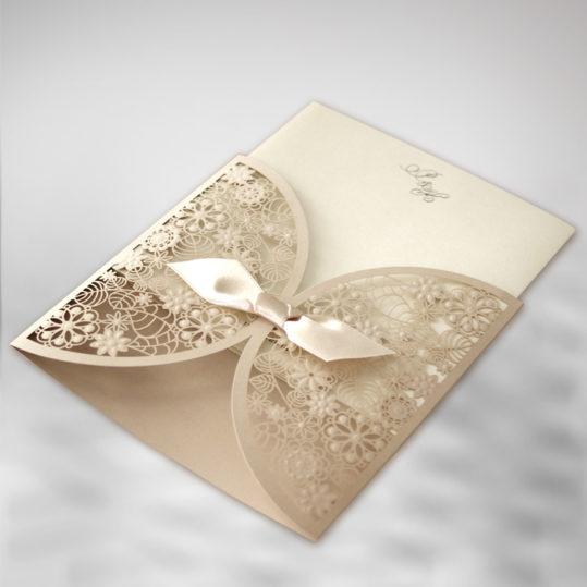 Botanical Laser cut wedding invitation_2