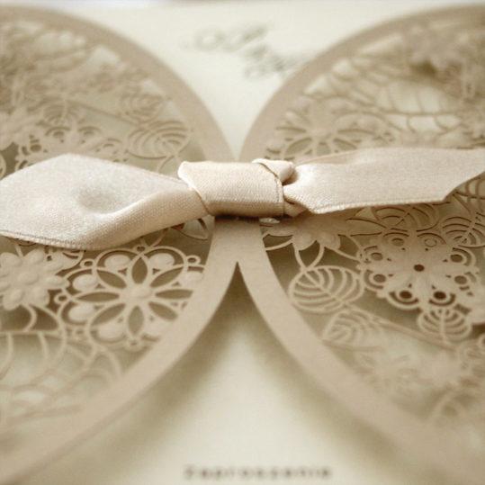 Botanical Laser cut wedding invitation_4