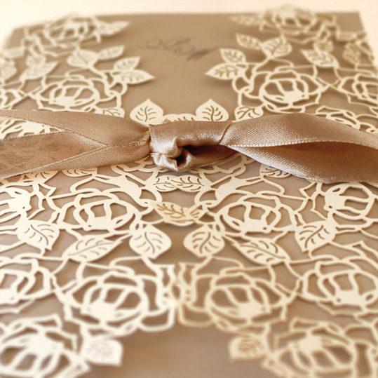 Opulent laser cut wedding invitation_2
