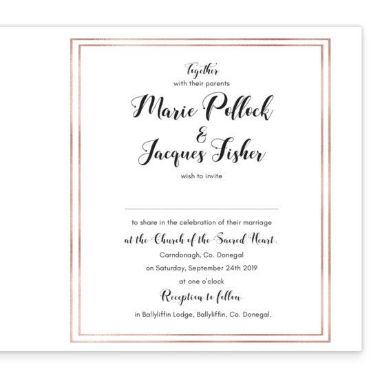 Delicate Blooms Folding Wedding Invite_inside