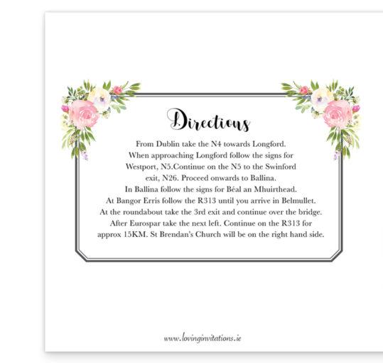 Blush Rose Folding Wedding Invite inside_3