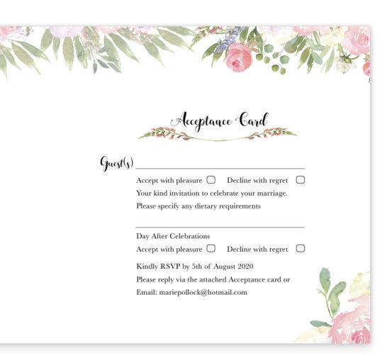 Blush Rose Wedding Invite inside_2