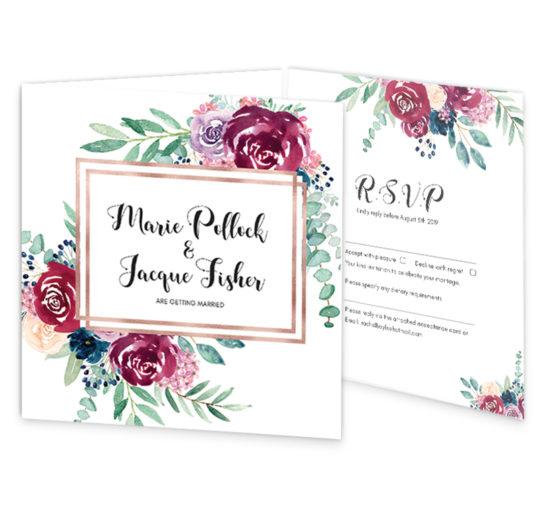 Delicate-bloom-tri-fold-wedding-invite-rsvp-sample