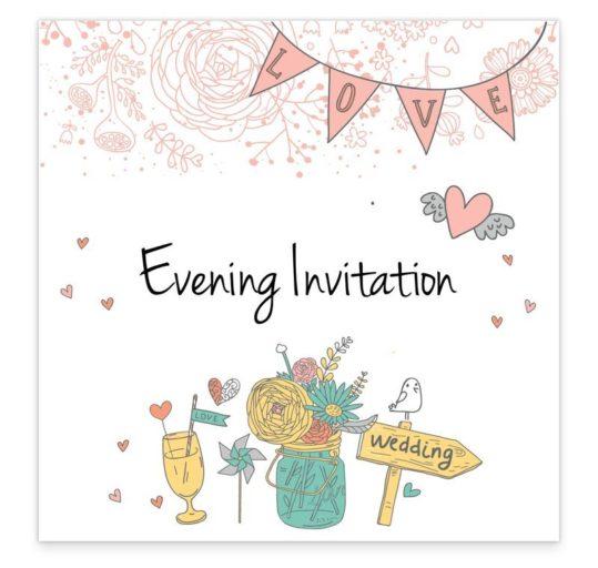 The Midsummer Dream Evening Invitation