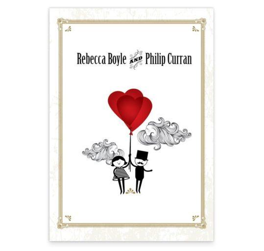 L'Amour Wedding Menus