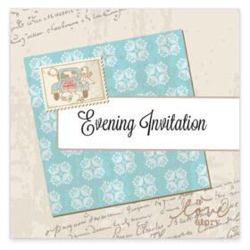 The Love Story Evening Invitation
