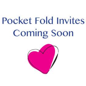 Pocket Fold Invite
