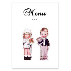 Wedded Children Menus